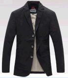 Vente en gros OEM dernière conception Hommes Automne Affaires Casual Outdoor lavé en coton veste