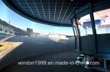 주문을 받아서 만들어지는 큰 시뮬레이터 고정 프레임 영사기 스크린