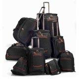 7PCS荷物の良質の一定のトロリー荷物袋の装飾的な荷物