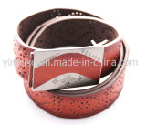 OEM Promotion New Design Exotic Man's Fashion Leather PU Belt