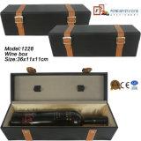 Doos van de Gift van de Wijn van de Fles van de Fabrikant van de douane de Enige (1229R3)