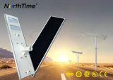 90W 지적인 한세트 에너지 절약 LED 램프 태양 전지판 가로등