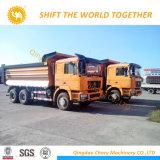 트럭 25 톤 덤프 트럭 Shacman 6X4 팁 주는 사람