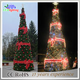 Fibra Óptica Gigante LED Decoração de Natal Árvore Outdoor Holiday Light