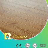 Hogar 12,3 mm de HDF AC3 Encerar suelo laminado de borde en relieve