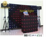 P15cm 3X3m RGB VisonのカーテンLEDの背景幕