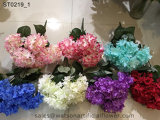Горячие Продажи дешевых высококачественных шелковых Hydrangea букеты цветов