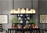 レストランまたは居間のための素晴らしい米国式のホテル型LEDの吊り下げ式のシャンデリアライトランプ