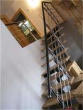 Simple main de style PVC 304 en acier inoxydable Escalier