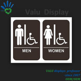 أكريليكيّ, [ستينلسّ ستيل], ألومنيوم, بلاستيكيّة ملموسة مرحاض إشارات أو علامة