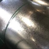 鋼材の規則的なスパンコールの熱い浸された電流を通された鋼鉄コイル