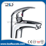 Chrome Finish Brass Body Single Handle Shower Bath Faucet Mixer