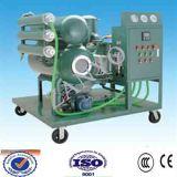 O dobro encena a máquina vegetal da purificação do óleo isolante de vácuo elevado