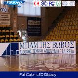 Buona visualizzazione di LED di pubblicità Full-Color dell'interno di prezzi P10 1/4s