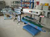 Máquina de embalagem contínua e automática de snacks com data de Vedação Vertical e Horizontal de enchimento de gás de impressão de tinta Coder e Função de Vácuo