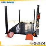 220V 4500kg à 4 postes de levage pour garage de stationnement de voiture
