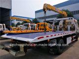 기중기를 가진 싼 가격 150HP DFAC 4X2 구조차 트럭