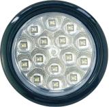 """LED 4"""" 둥근 정지 회전 테일 빛 Tl08"""