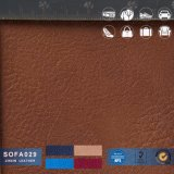 Couro do PVC do PVC Leather/100% para o carro/sofá/Furniturer