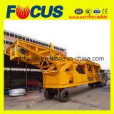 Draagbare Mobiele Concrete het Mengen zich van het Cement Machine (YHZS35)