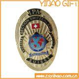 USA-Marine-Metallabzeichen/ReversPin/Tasten-Abzeichen mit Vergoldung- und Buffterflykupplung (YB-p-029)