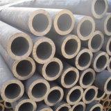 Venda por grosso tubo redondo de aço carbono macio SS400 para emissões