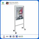 Алюминиевая система рекламы Рекламные изображения подставка для дисплея стопорное рамы
