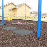 High-density прочные резиновый половые коврики настила для домашней плитки качания спортивной площадки