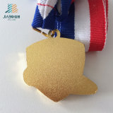 Liberare la medaglia su ordinazione di judo del bronzo dello smalto dei prodotti di disegno per il Giappone