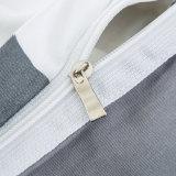 安く100%年の綿の簡単なヨーロッパの縞デザインシーツセット