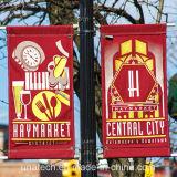 Luz exterior Post ferragens do suporte do Banner de publicidade (BT116)