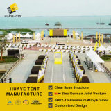 tenda trasparente di evento del Pagoda di 3X3m Windows (hy017b)