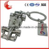 주문을 받아서 만들어진 선전용 인쇄 돋을새김된 3D 거푸집 Keychain
