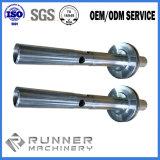 Части стали/алюминия/латуни/медного Lathe CNC подвергая механической обработке