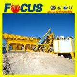 Yhzs25 25m3/H planta mezcladora de concreto móvil