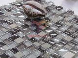 Mosaico di pietra di cristallo di stile di miscela di formato irregolare (CS214)