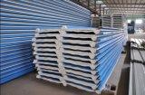 Angemessener Preis-Metall gewelltes farbiges Stahlzwischenlage-Panel, Wärmeisolierung PU-Wand/Dach-Zwischenlage-Panel