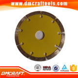Pressed caldo Sintered Diamond Saw Blade per Stone
