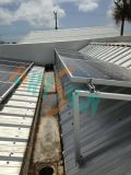 태양 에너지 설치 시스템 편평한 지붕