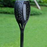 LED de 96 paisaje exterior impermeable baile llama parpadeo de la iluminación de la decoración del jardín de la seguridad de la luz de linterna solar