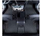 couvre-tapis en cuir 2009-2017 de véhicule de 5D XPE pour Peugeot 307