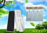 Luz de calle solar automática de la iluminación 25W LED de la batería de litio 18ah