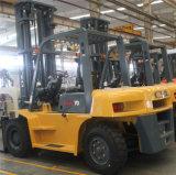China Nueva carretilla elevadora Diesel de 7 Ton.