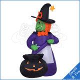 Pubblicità gonfiabile di Halloween del modello felice della decorazione