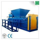 Prensa a puerta cerrada hidráulica horizontal de la cartulina que recicla la máquina