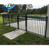 Revêtement en poudre de sécurité/de/jardin/piscine en fer forgé/ /l'acier de clôtures de sécurité
