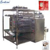 L'huile, coller, confiture, miel liquide, de la machine à ensacher en plastique, de remplissage et de la machine d'étanchéité