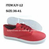 Ботинки холстины впрыски ботинок женщин отдыха (FFXJY-3)