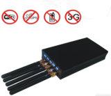 Handbediende Verkiesbare 3G GPS Bluetooth van Cellphone Blocker van het Signaal