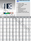 Guarnizione meccanica del cuneo del Teflon (B9B/9BT)